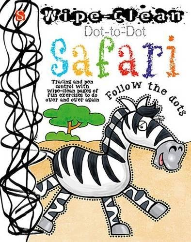 9781910184509: Wipe-Clean Dot-to-Dot: Safari
