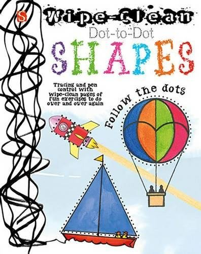 Wipe-Clean. Dot-To-Dot. Shapes
