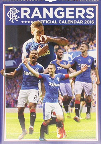 9781910199268: The Official Glasgow Rangers 2016 A3 Calendar (Calendar 2016)