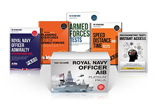 ROYAL NAVY OFFICER AIB PLATINUM Package Box Set: Royal Navy Officer Admiralty Interview Board, ...