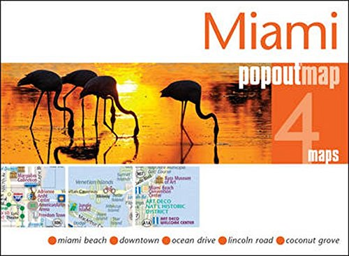 9781910218082: Miami PopOut Map: Handy pocket-size pop-up map of Miami (PopOut Maps)