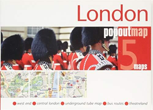 9781910218143: London Popout Map (Popout Maps)