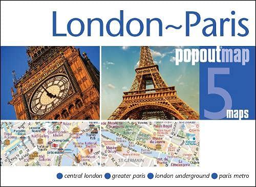9781910218174: London & Paris Popout Map