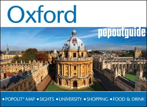 9781910218211: Oxford: PopOut Guide [Lingua Inglese]: Handy pocket size Oxford city guide with pop-up Oxford city map