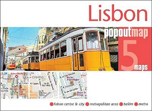 9781910218488: Lisbon PopOut Map (PopOut Maps)