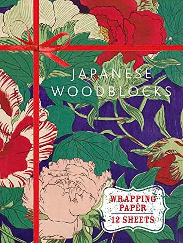 Japanese Woodblock Prints: Wrapping Paper Book (Wrapping Paper Books): Glasgow Museums