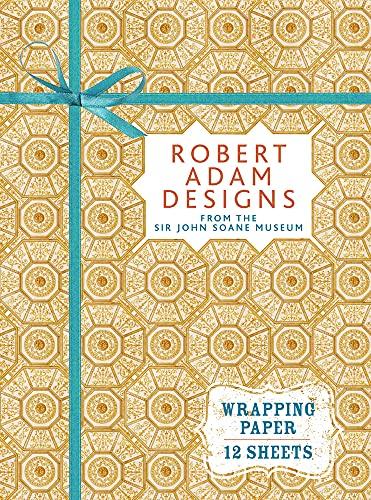 Robert Adam Designs (Wrapping Paper Book): Sir John Soane's Museum