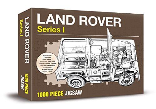 Land Rover Series 1 Jigsaw (1000 Piece Jigsaw) (Poster): Haynes