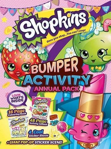 9781910287064: Shopkins Activity Annual Bumper Pack 2015