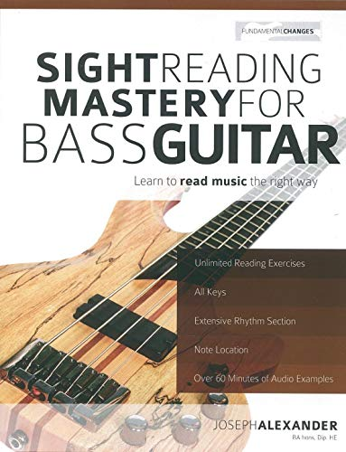 9781910403174: Sight Reading Mastery for Bass Guitar: Learn to Read Music the Right Way