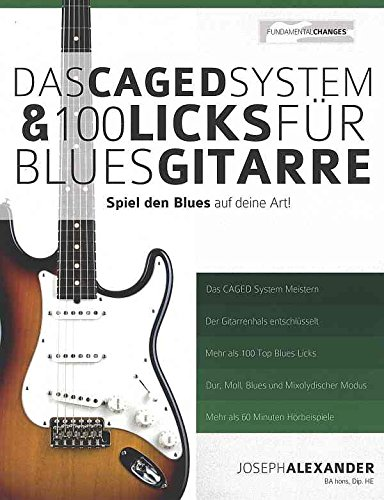 9781910403181: Das Caged System + 100 Licks Fuer Bluesgitarre