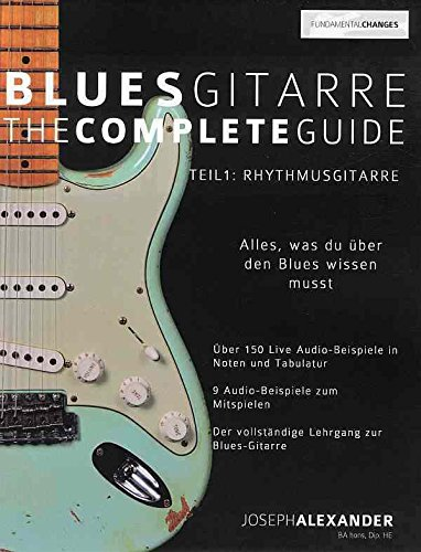 9781910403198: Blues-Gitarre - The Complete Guide: Teil 1 - Rhythmusgitarre