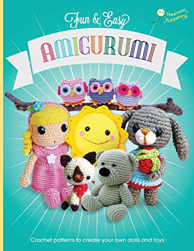 9781910407226: Fun and Easy Amigurumi: Crochet patterns to create your own dolls and toys (Volume 1)