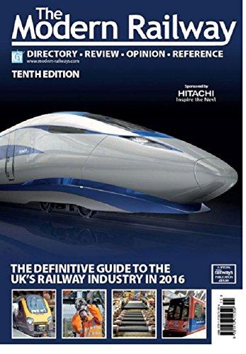 The Modern Railway 2016: Cordner, Ken