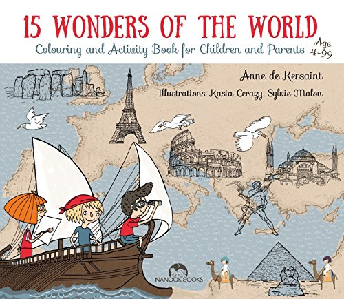 9781910538234: 15 Wonders of the World: Colour, Read, Fold & Travel
