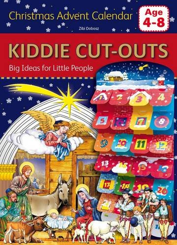 9781910538487: Christmas Advent Calendar (Kiddie Cut-Outs-Big Ideas for Little People)