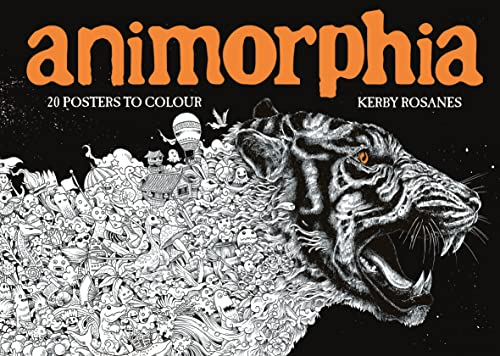 9781910552568: Animorphia. 20 Posters To Colour (Colouring Books)
