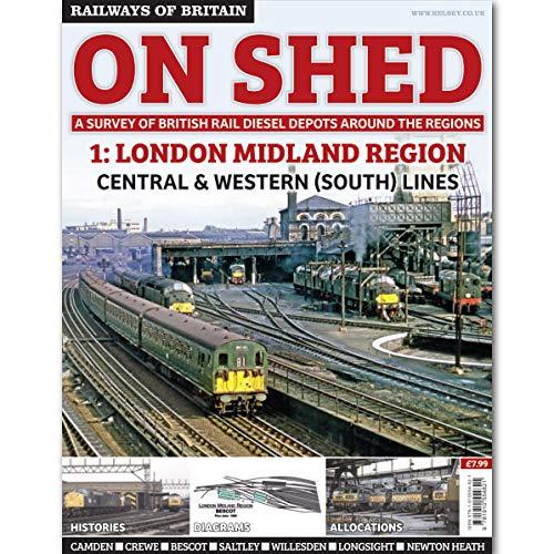 9781910554821: Railways of Britain - On Shed #1 - London Midland Region