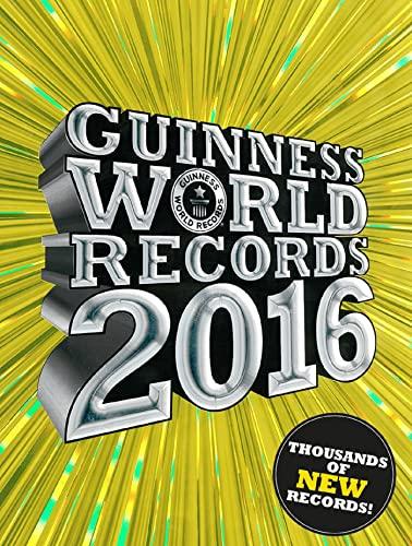 9781910561027: Guinness World Records 2016