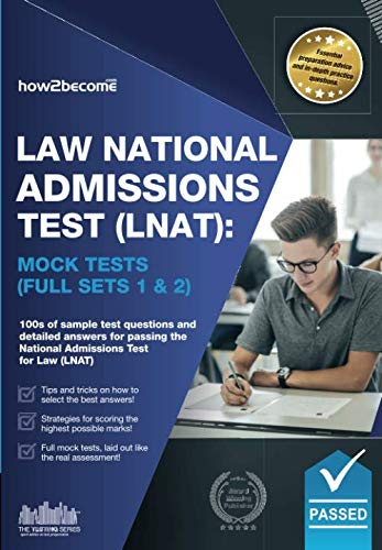 Law National Admissions Test (LNAT): Mock Tests (LNAT Revision Series): How2Become