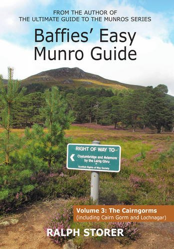 9781910745052: Baffies Easy Munro Guide: The Cairngorms (Baffies Munro Guides)