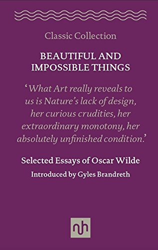 9781910749067: Beautiful and Impossible Things: Selected Essays of Oscar Wilde