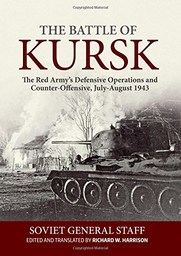 9781910777671: The Battle of Kursk: The Red Army's Defensive Operations and Counter-Offensive, July-August 1943