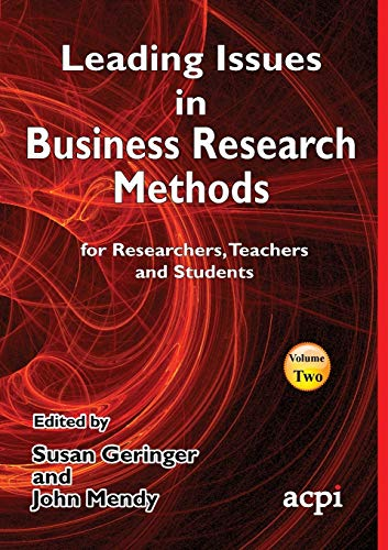 9781910810378: Leading Issues in Business Research Methods Volume 2