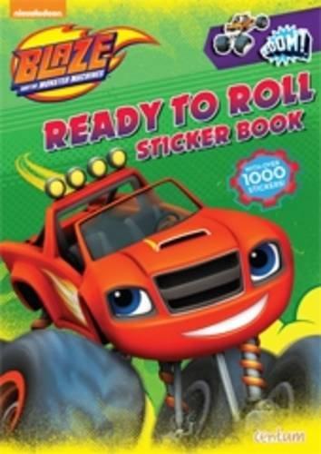 9781910916254: Blaze Ready to Roll Sticker Book