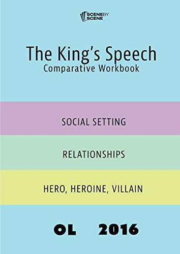 9781910949092: The King's Speech Comparative Workbook OL16