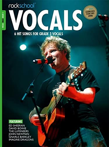 ROCKSCHOOL VOCALS MALE GRADE 3 (Paperback): Rockschool