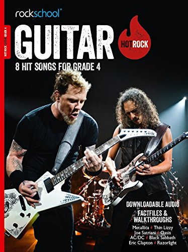 9781910975190: HOT ROCK GUITAR 8 SONGS FOR GRADE 4 (Rockschool)