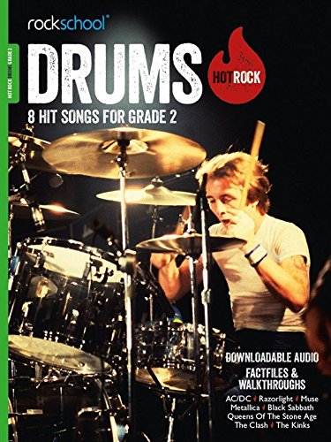 9781910975220: Rockschool Hot Rock Drums Gr2 Bk/Audio