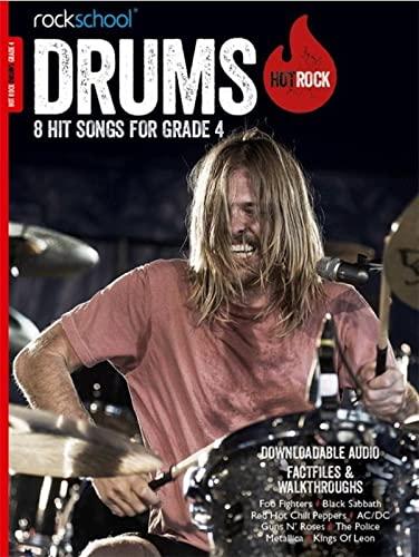 Rockschool Hot Rock Drums Gr4 Bk/Audio