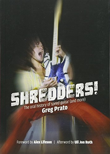 9781911036210: Shredders!: The Oral History Of Speed Guitar (And More)