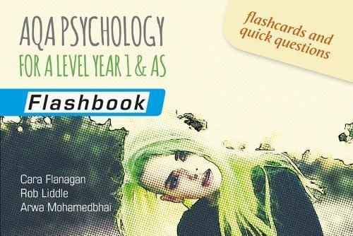 9781911208402: AQA Psychology for A Level Year 1 & AS: Flashbook