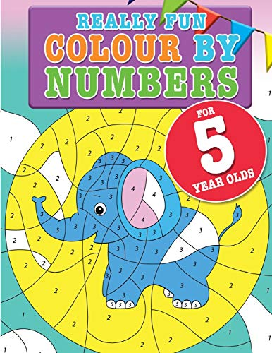 9781911219293: Really Fun Numbers For 5 Year Olds: A fun & educational counting numbers activity book for five year old children