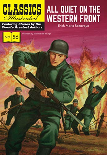 9781911238300: Classics Illustrated 56: All Quiet on the Western Front