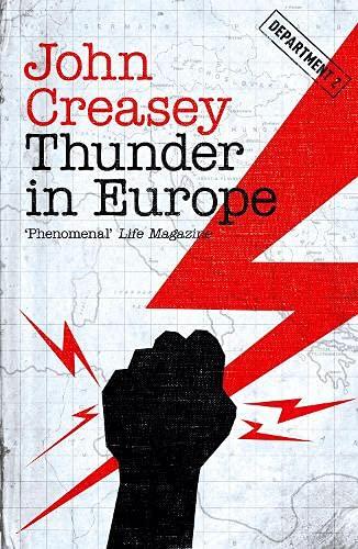 9781911295396: Thunder In Europe (Department Z)
