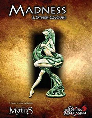 Madness Other Colours: A Mythras Adventure (Paperback): Lawrence Whitaker