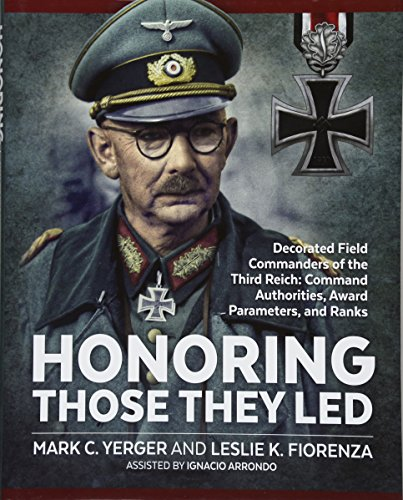 Honoring Those They Led: Decorated Field Commanders: Yerger, Mark C./