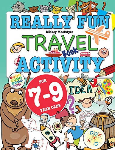 9781912155088: Really Fun Travel Activity Book For 7-9 Year Olds: Fun & educational activity book for seven to nine year old children