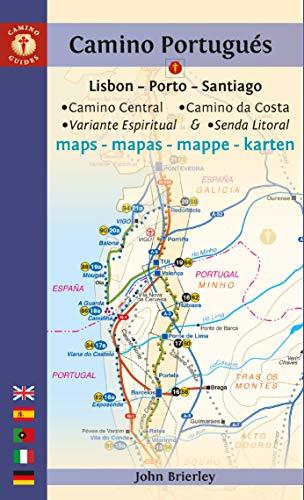 9781912216147: Camino Portugues Maps: Lisbon - Porto - Santiago / Camino Central, Camino De La Costa, Variente Espiritual & Senda Litoral (Camino Guides)