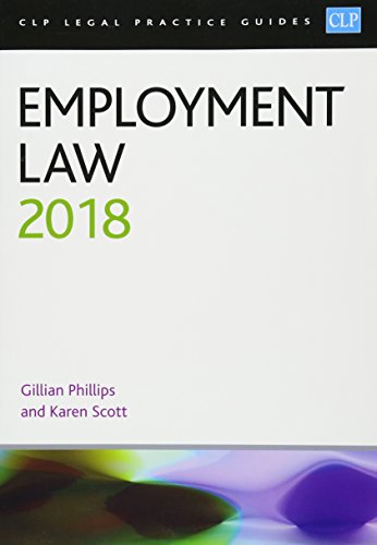 9781912363148: Employment Law 2018 (CLP Legal Practice Guides)