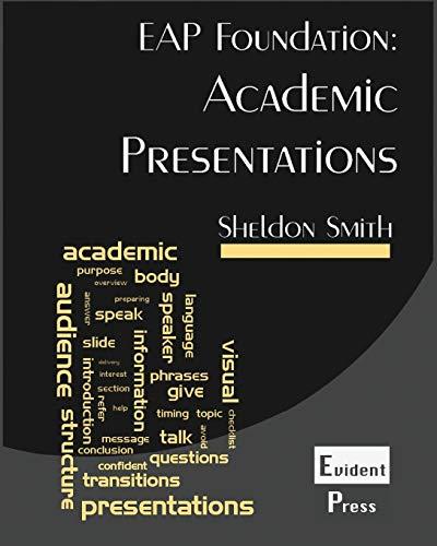 9781912579006: Academic Presentations: Eap Foundation