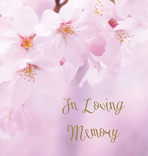 In Loving Memory Funeral Guest Book, Celebration of Life, Wake, Loss, Memorial Service, Condolence ...