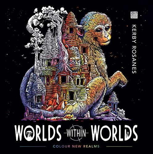 9781912785124: Worlds Within Worlds: Colour New Realms (Colouring Book)