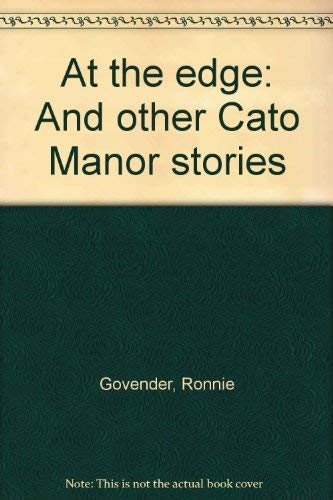 9781919690148: At the Edge and Other Cato Manor Stories