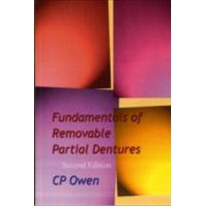 9781919713588: Fundamentals of Removable Partial Dentures