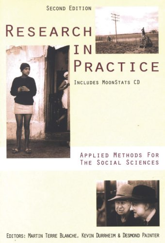 Research in Practice: Applied Methods for the Social Sciences